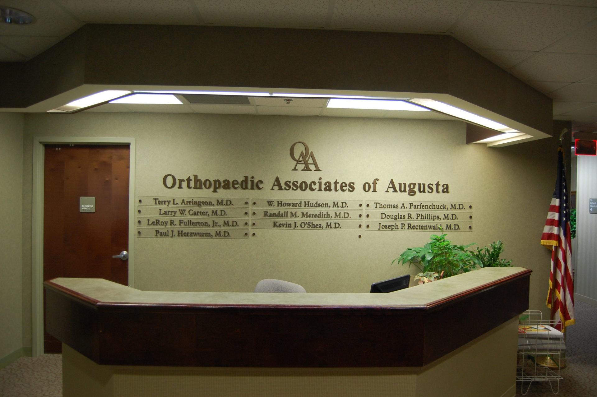 Home - Orthopaedic Associates of Augusta, P A